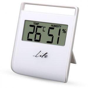 LIFE FLEXY Thermometer with hygrometer,White   ΜΙΚΡΟΣΥΣΚΕΥΕΣ / ΕΠΟΧΙΑΚΑ / ΛΕΥΚΕΣ ΣΥΣΚΕΥΕΣ   elabstore.gr