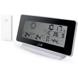 LIFE WES-200 Weather station with wireless outdoor sensor,clock& alarm function | ΜΙΚΡΟΣΥΣΚΕΥΕΣ / ΕΠΟΧΙΑΚΑ / ΛΕΥΚΕΣ ΣΥΣΚΕΥΕΣ | elabstore.gr