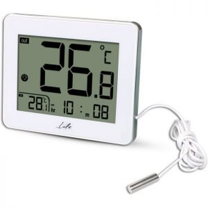 LIFE WES-202 Indoor/outdoor thermometer,White | ΜΙΚΡΟΣΥΣΚΕΥΕΣ / ΕΠΟΧΙΑΚΑ / ΛΕΥΚΕΣ ΣΥΣΚΕΥΕΣ | elabstore.gr