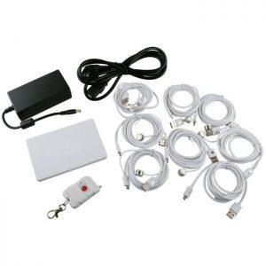 Αντικλεπτική βάση 8 κινητών με τηλεχειριστήριο | Mobile Συσκευές | elabstore.gr