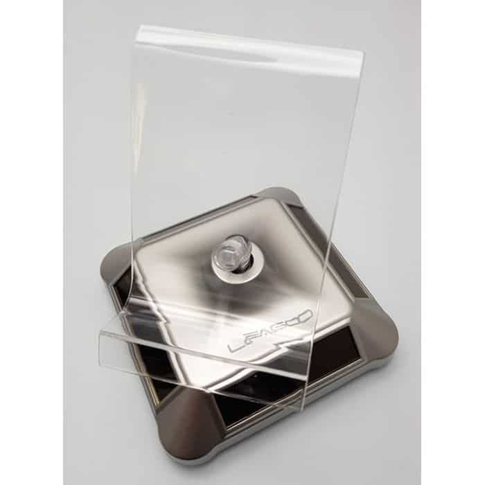 LEAGOO Βάση προβολής Smartphones, Περιστρεφόμενη, Ηλιακή, Silver | Mobile Συσκευές | elabstore.gr