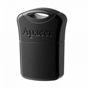 APACER USB Flash Drive AH116, USB 2.0, 16GB, Black | Συνοδευτικά PC | elabstore.gr