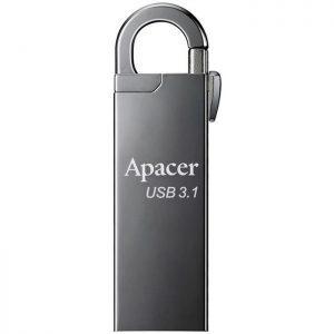 APACER USB Flash Drive AH15A, USB 3.1 Gen1, 32GB, Ashy | Συνοδευτικά PC | elabstore.gr