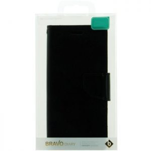 MERCURY Θήκη Bravo Diary για Apple iPhone 7/8, Black | Αξεσουάρ κινητών | elabstore.gr