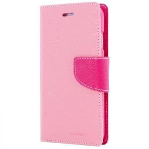 MERCURY Θήκη Fancy Diary για Samsung Galaxy S6 edge, Pink/Hot Pink | Αξεσουάρ κινητών | elabstore.gr