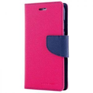 MERCURY Θήκη Fancy Diary για Samsung Galaxy Note 5, Hot Pink/Navy | Αξεσουάρ κινητών | elabstore.gr