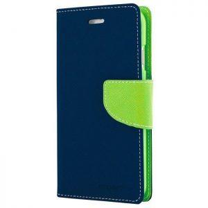MERCURY Θήκη Fancy Diary για Samsung Galaxy Note 5, Navy/Lime | Αξεσουάρ κινητών | elabstore.gr