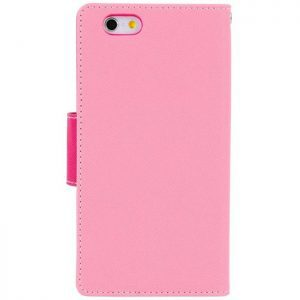 MERCURY Θήκη Fancy Diary για iPhone 7 & 8, Pink/Hot Pink | Αξεσουάρ κινητών | elabstore.gr