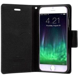 MERCURY Θήκη Fancy Diary για Samsung S8 Plus, Black | Αξεσουάρ κινητών | elabstore.gr