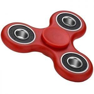 Fidget Spinner FS-008, Plastic, 3 leaves με bearings, Red, 1 minute | Gadgets | elabstore.gr