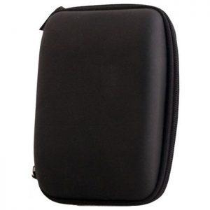 Θήκη ταξιδίου Eva, για αξεσουάρ κινητού, με φερμουάρ, Medium, Black | Αξεσουάρ κινητών | elabstore.gr