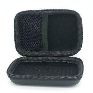 Θήκη ταξιδίου Eva, για αξεσουάρ κινητού, με φερμουάρ, Large, Black | Αξεσουάρ κινητών | elabstore.gr