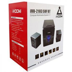IVOOMi ηχεία iVO-2103 SUF BT 2.1ch, USB/SD/FM/BT, 40W, τηλεχειριστήριο | Συνοδευτικά PC | elabstore.gr