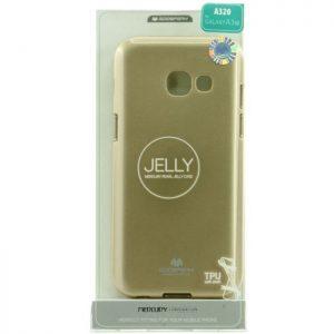 MERCURY Θήκη Jelly για Samsung A3 2017, Gold | Αξεσουάρ κινητών | elabstore.gr
