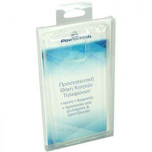 POWERTECH θήκη Smartphone TPU, για Samsung S6, Clear | Αξεσουάρ κινητών | elabstore.gr