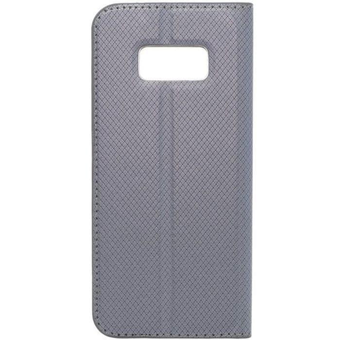 POWERTECH Θήκη Magnet View για Samsung  Galaxy S8 (G950), Gray | Αξεσουάρ κινητών | elabstore.gr
