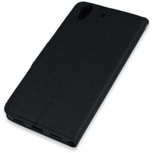 POWERTECH Θήκη Fancy Book για Huawei Y6II/Honor 5A, Black | Αξεσουάρ κινητών | elabstore.gr