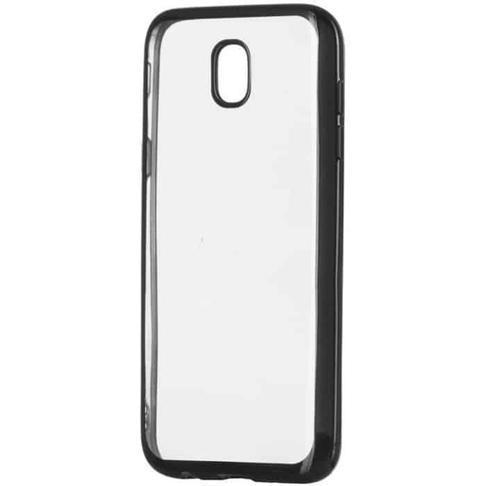 POWERTECH Θήκη Metal TPU για Samsung J3 2017 J330, Black | Αξεσουάρ κινητών | elabstore.gr