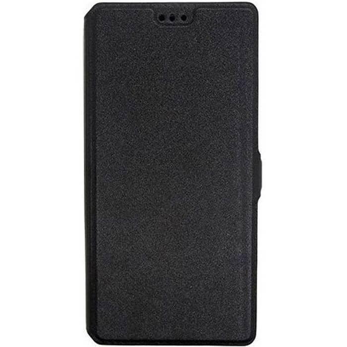 POWERTECH Θήκη Slim Book για Huawei Honor 9, Black   Αξεσουάρ κινητών   elabstore.gr