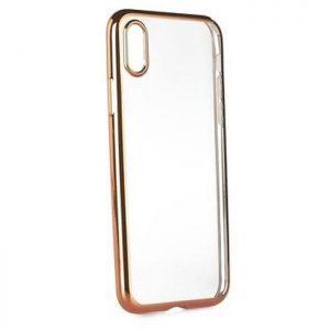 POWERTECH Θήκη Metal TPU για iPhone X, Rose Gold | Αξεσουάρ κινητών | elabstore.gr