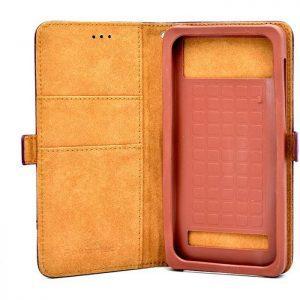 "POWERTECH Θήκη Pocket UniFlip Universal για Smartphone 5.6 - 6"", καφέ | Αξεσουάρ κινητών | elabstore.gr"