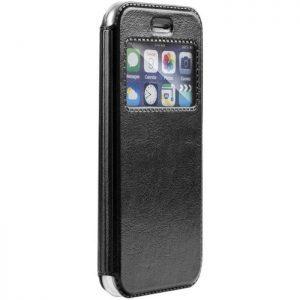 POWERTECH θήκη Magnet View Leather για Xiaomi Mi A1/5X, μαύρη | Αξεσουάρ κινητών | elabstore.gr