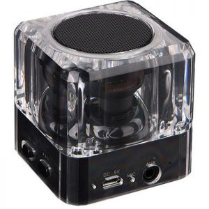 POWERTECH Bluetooth Speaker PT-404, Portable, 3W, Led Light, Black | Συνοδευτικά PC | elabstore.gr