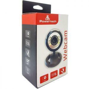 POWERTECH Web Camera 1.3MP, Plug & Play, Black | Συνοδευτικά PC | elabstore.gr