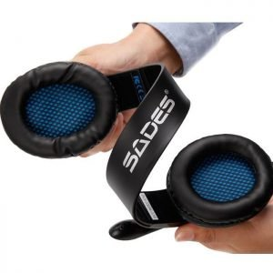 SADES Gaming headset Tpower με 40mm ακουστικά, Blue   Συνοδευτικά PC   elabstore.gr