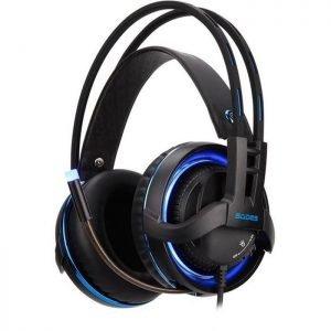 SADES Gaming Headset Diablo, USB, Realtek Audio, RGB LED | Συνοδευτικά PC | elabstore.gr