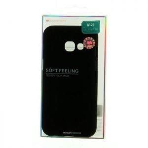MERCURY Θήκη Soft Feeling Jelly για Galaxy A3 2017, Black | Αξεσουάρ κινητών | elabstore.gr