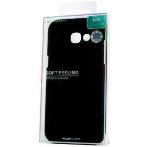 MERCURY Θήκη Soft Feeling Jelly για Samsung A5 2017 (A520), Black | Αξεσουάρ κινητών | elabstore.gr