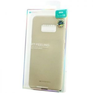 MERCURY Θήκη Soft Feeling Jelly για Galaxy S8, Stone | Αξεσουάρ κινητών | elabstore.gr