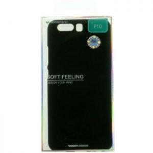 MERCURY Θήκη Soft Feeling Jelly για Huawei P10, Black | Αξεσουάρ κινητών | elabstore.gr