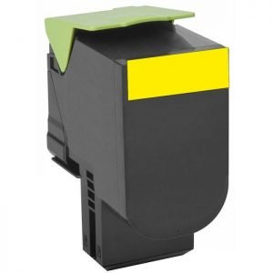 Συμβατό Toner για LEXMARK, 802SY, Yellow, 2K | Toner - Ribbon Μελάνια | elabstore.gr