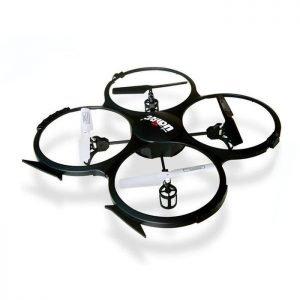 UDIRC Drone U818A, 480p Camera, 6- Axis, 360°flips, μαύρο | Gadgets | elabstore.gr