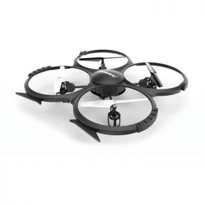 UDIRC Drone U818A HD, HD Camera 30fps, LCD controller, 6-Axis, μαύρο | Gadgets | elabstore.gr