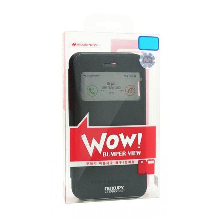 MERCURY Θήκη WOW Bumper για iPhone 7 Plus, Black | Αξεσουάρ κινητών | elabstore.gr