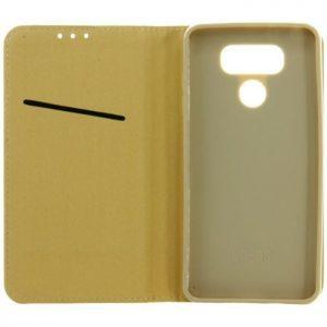 POWERTECH Θήκη Magnet Book για LG G6, Gold, Blister | Αξεσουάρ κινητών | elabstore.gr