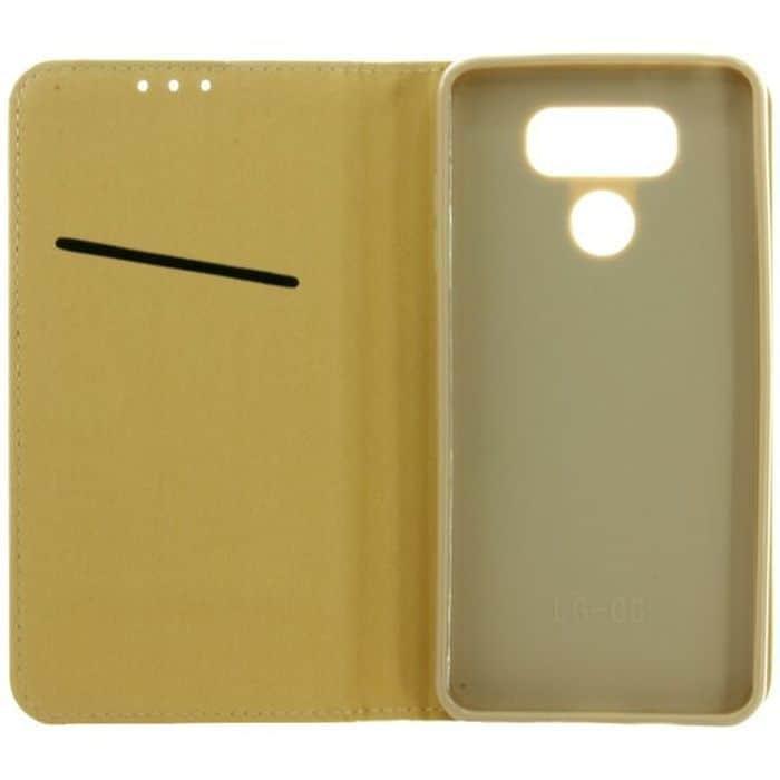 POWERTECH Θήκη Magnet Book για LG G6, Gold, Blister   Αξεσουάρ κινητών   elabstore.gr
