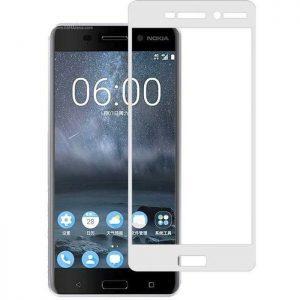 POWERTECH Tempered Glass 3D Full Face για Nokia 2, White | Αξεσουάρ κινητών | elabstore.gr