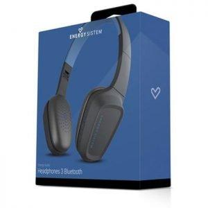 ENERGY SISTEM Bluetooth headphones 3 με μικρόφωνο, 40mm, μαύρο | Αξεσουάρ κινητών | elabstore.gr