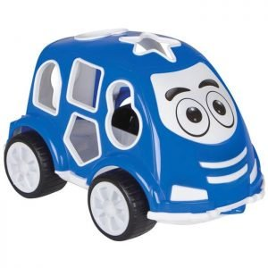 JAMARA Εκπαιδευτικό αυτοκίνητο εκμάθησης σχημάτων 460291, μπλε   Παιχνίδια   elabstore.gr
