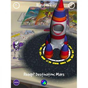 PUKKA FUN Βιβλίο ζωγραφικής 4D επαυξημένης πραγματικότητας, Space   Παιχνίδια   elabstore.gr