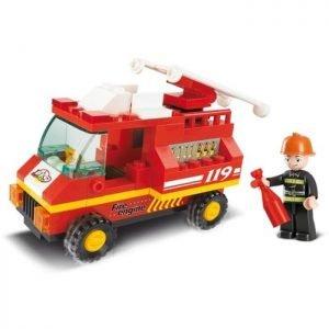 SLUBAN Τουβλάκια Town, Fire Truck M38-B0173, 74τμχ | Παιχνίδια | elabstore.gr