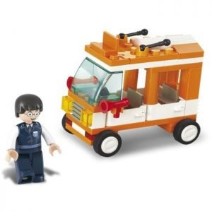 SLUBAN Τουβλάκια Town, Mini Bus M38-B0179, 72τμχ | Παιχνίδια | elabstore.gr