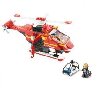 SLUBAN Τουβλάκια Fire, Rescue Helicopter M38-B0218, 155τμχ | Παιχνίδια | elabstore.gr