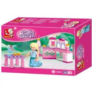 SLUBAN Τουβλάκια Girls Dream, Princess M38-B0238, 35τμχ | Παιχνίδια | elabstore.gr