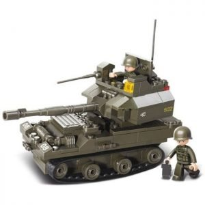SLUBAN Τουβλάκια Army, Tank M38-B0282, 178τμχ | Παιχνίδια | elabstore.gr