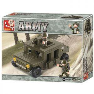 SLUBAN Τουβλάκια Army, Armoured Car M38-B0297, 175τμχ | Παιχνίδια | elabstore.gr
